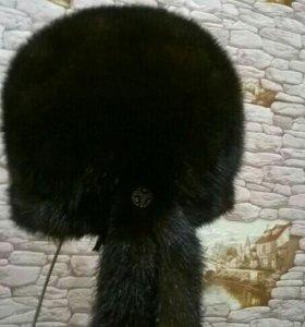 Продам норковую шапку,состояние отличное