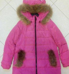 Демисезонная куртка-парка 44-46