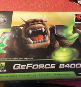 Видеокарта GeForce 8400 GS