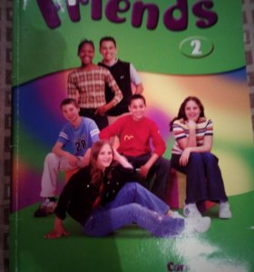Учебники по англискому языку Friends2 + CD диски