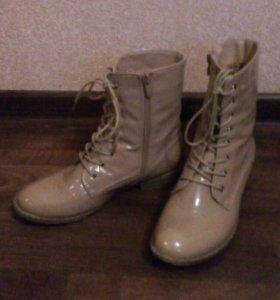 Ботинки 38р.