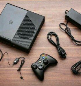 Xbox360 со всеми комплектующими .