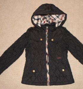 Демисез. стильная куртка для девочки, рост 110-116