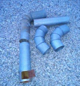 Труба для напольного газового котла