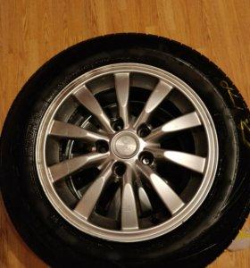 R15 Литье+шины (новые) Nexen 195/65