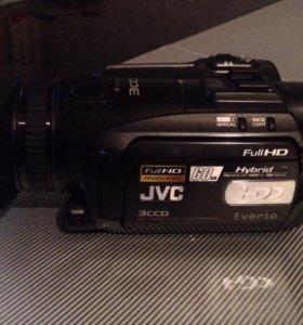 Видеокамера JVC GZ-HD7ER Full HDD 3 CCD