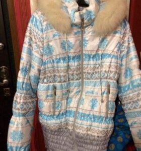 Зимняя куртка буду мама.