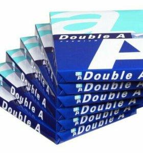 Бумага DOUBLE-A-70. Доставка