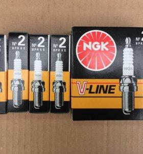 Свечи зажигания NGK V-line N 2 (Япония)