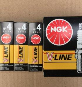 Свечи зажигания NGK V- Line N 4 (Япония)