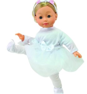 Интерактивная кукла Bambolina Molly (звук), 40 см