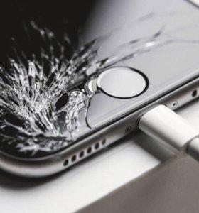Переклейка стёкол iPhone