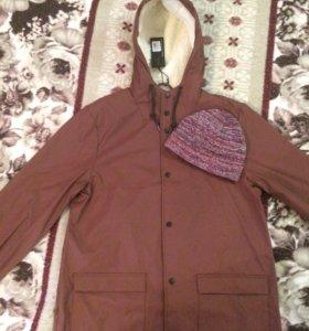 Водонепроницаемая куртка D-Struct + шапка asos