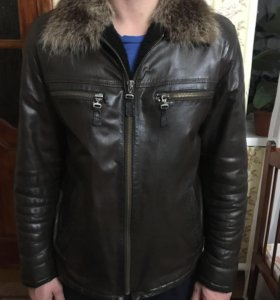 Куртка зимняя ( натур. Кожа )