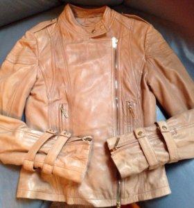 Куртка кожаная Elisabetta Franchi