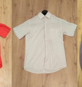 Рубашка, стильная 1 + 1 скидка (футболка, майка)