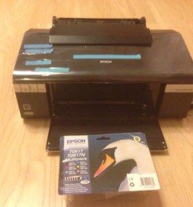 Профессиональный фото принтер Epson photo R 295