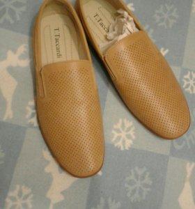 Новые туфли 44 р бежеввые