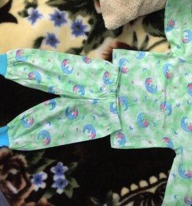 Новая Пижама для малыша.размер 1.
