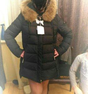 Пуховик новый женский зимний
