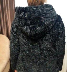 Теплая плюшевая куртка