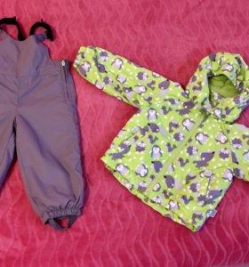 Комплект куртка брюки 86 весна-осень
