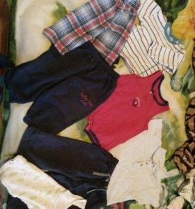 Вещи на мальчика 70-74 см