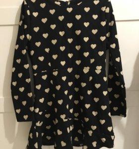 Новое платье с сердечками