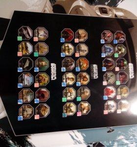 Вся коллекция звёздных воин