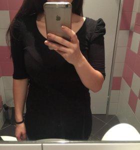 Чёрное платье M Terranova