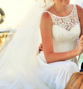 Свадебное - выпускное платье