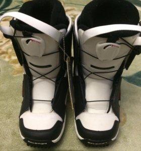Ботинки для сноуборда salomon talapus новые
