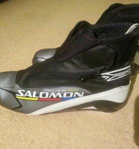 Лыжные ботинки salomon active 9 classic pilot