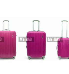 Пластиковый чемодан (новый) размерL