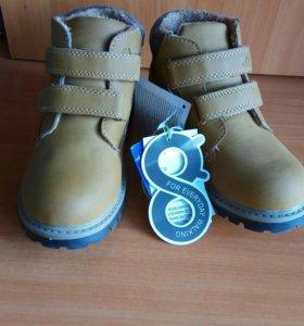 Новые демисезонные ботинки Jook