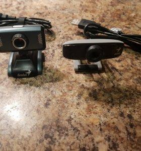 2 вебкамеры  Genius Slim 1320 + Genius Face 320