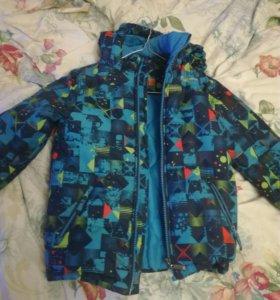 Теплая куртка для мальчика!
