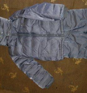 Зимняя куртка и полукомбинезон les trois vallees