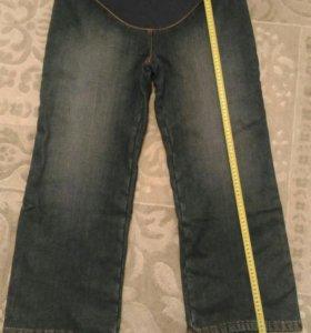 Новые джинсы (брюки) утепленные для беременных