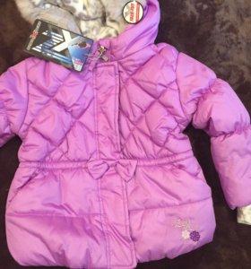 Новая теплая куртка - 3г для девочки ZeroXposur