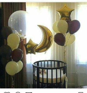 Воздушные шары на день рождения.