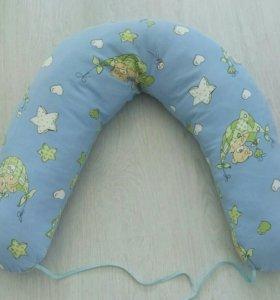 Подушка для беременных, для кормления