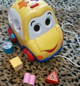 Развивающая игрушка машинка baby go