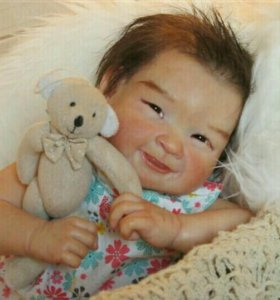 Кукла Кейко (реборн)