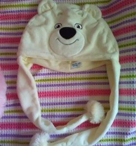 шапка олимпийский мишка