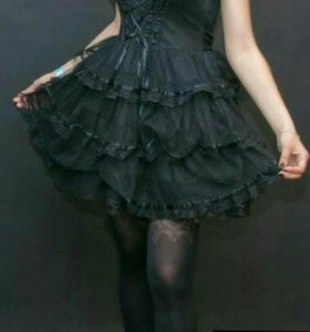 Платье. Ghotik lolita.