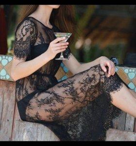 Платье-пеньюар новый 44 размер