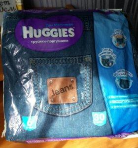Трусики подгузники HAGGIES 6 (хаггис)