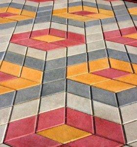 Укладка кафельной тротуарной плитки мелкие работы