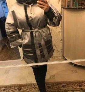 Новое пальто осенне в идеальном состоянии!!!❤️❤️❤️